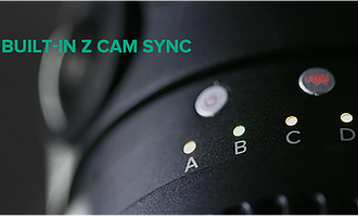 Built-in Z CAM Sync