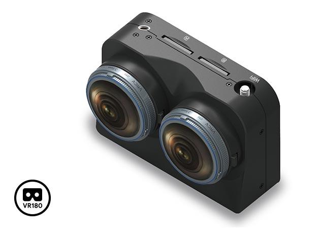 VR180 Format Camera