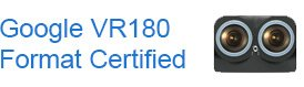 Google VR180 Certified camera partner