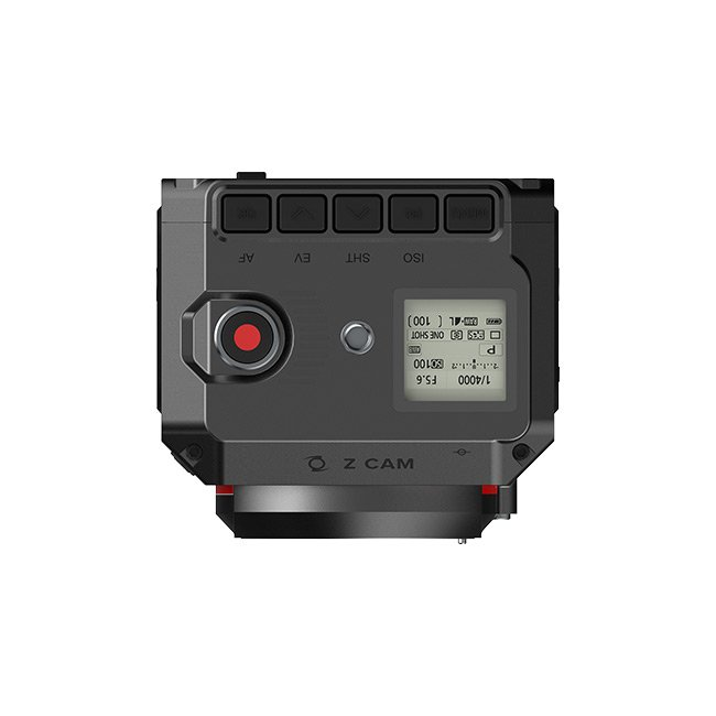 Professional 4K Cinematic Camera - 120fps and 10 bit color
