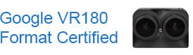 Google VR180 Certified camera partner