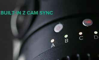 Built-in Z CAM Sync