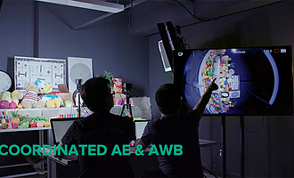 Coordinated AE & AWB